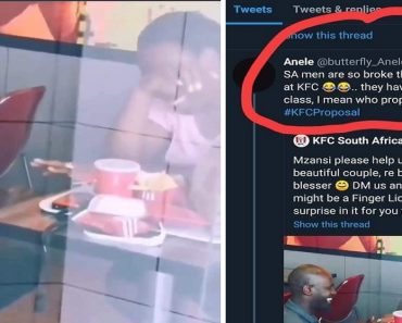 Journalist Laughs at Guy for Proposing at KFC Kitchen, Couple Gets Lots of Sponsors for Wedding