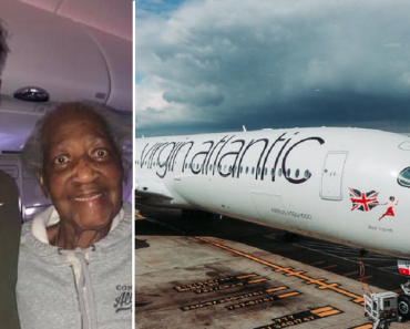 Guy Gives Up First Class Seat for 88-Year-Old Retired Nurse, Kind Act Goes Viral