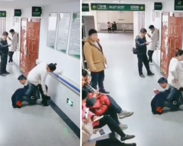 Chinese Husband Goes Viral for Becoming 'Human Chair' for Tired Pregnant Wife