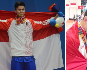 Mixed Tears as Indonesian Athlete Receives News of Dad's Passing after Winning Gold at SEA Games