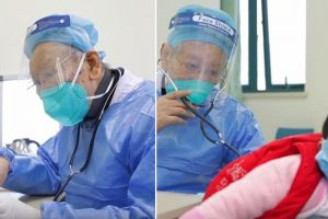 86-Year-Old Retired Doctor Comes Out of Retirement to Help in Wuhan Outbreak