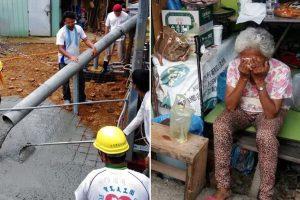 Old Woman Cries as Team of 45 Volunteers Rebuild Her Rundown Home