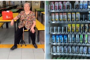 Old Woman Who Operated Drink Stall Inside School for 60 Years Gets Replaced by Vending Machine
