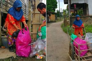 Widowed Mom Collects Trash to Support Kids, Takes Pride in Their Success in School