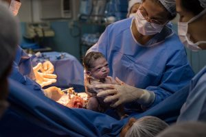"""Photo of 'Angry' Newborn Baby Goes Viral, """"I Don't Like it Here!"""""""