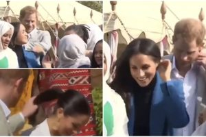 Prince Harry Goes Viral for Video Showing How He Lovingly Fixes Meghan's Hair