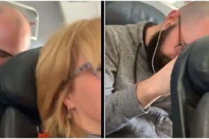 Argument Between Two Airline Passengers Over Reclining Seats Gets Mixed Reactions