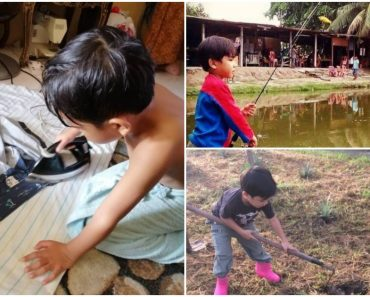 Kid Goes Viral as He Prefers Outdoor Activities Over Gadgets and TV