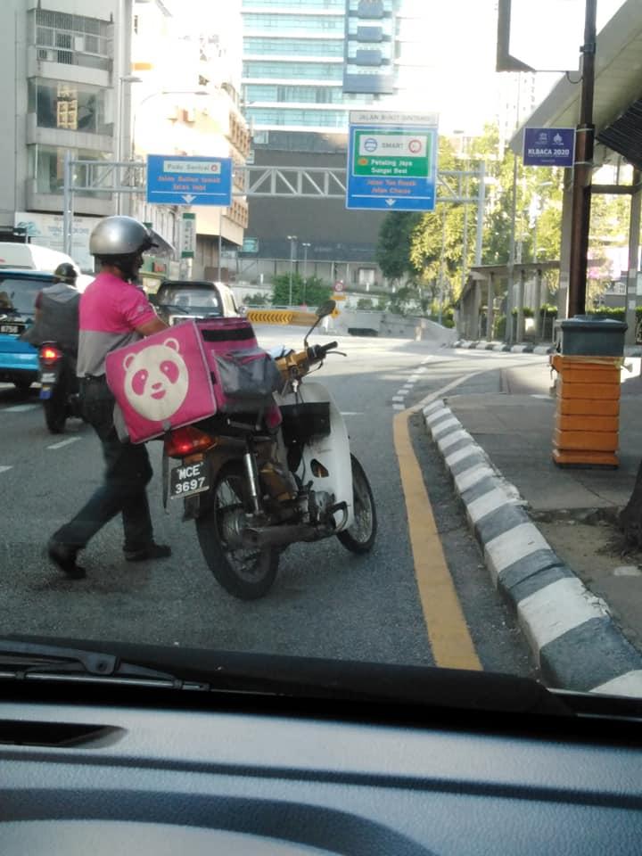Kind FoodPanda Driver