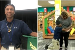 Community Buys Truck for Hardworking Custodian Who Travels 6 Hours to Work