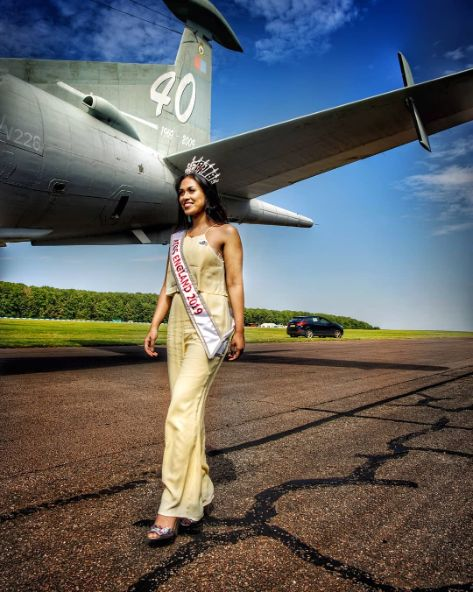 Miss England serves in frontlines of COVID