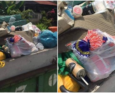 Netizens Express Anger after Seeing Two Loaves of Unopened Bread in Garbage Truck