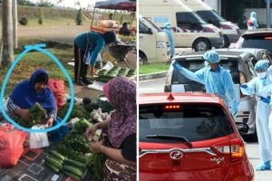 Vegetable Vendor Tests Positive of COVID, Comes Forward to Save Her Buyers
