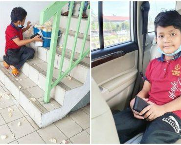 Bully Destroys Food a Boy is Selling, Good Samaritans Buy Everything