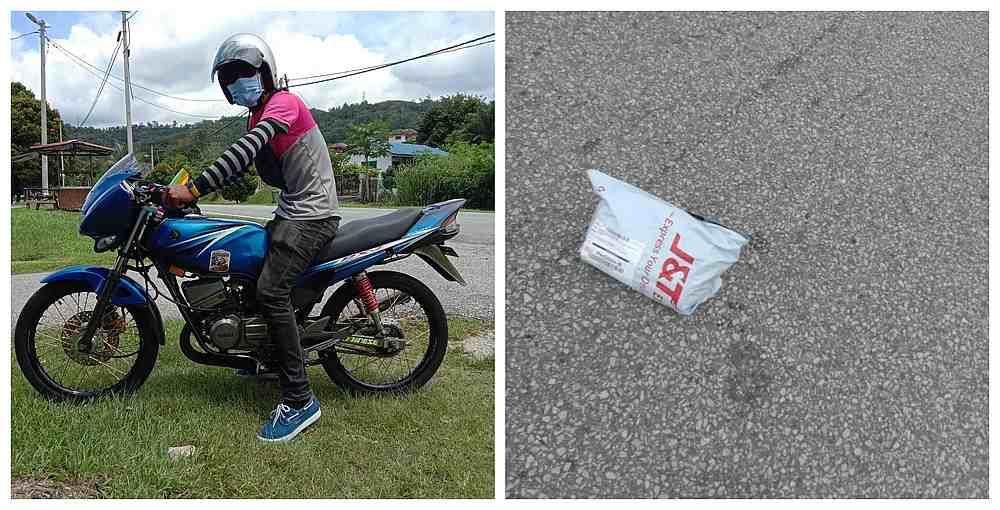 honest FoodPanda rider