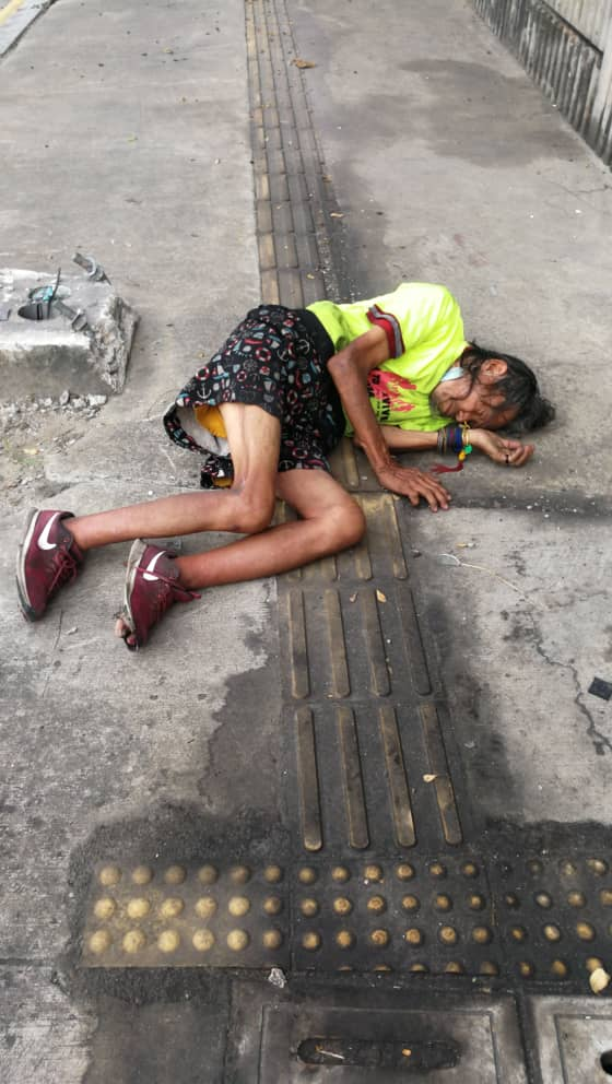 Grab driver saves unconscious homeless man