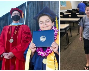 Genius 13-Year-Old Boy Graduates with 4 Associate Degrees from College