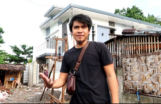 Pinoy vlogger shares videos dream house