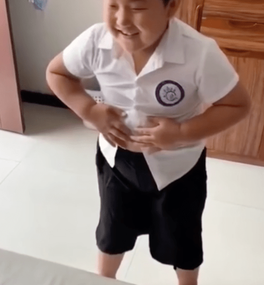adorable kid goes viral