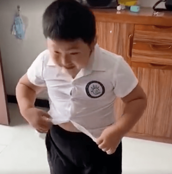 adorable kid goes viral