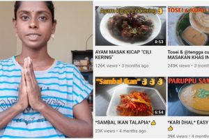 Mom Starts YouTube Cooking Channel During Lockdown, Quickly Gains Success