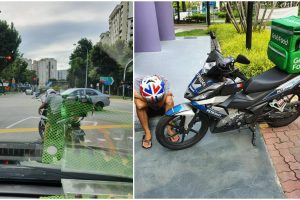 GrabFood Rider Insists on Completing Delivery, Despite Collapsing due to Illness
