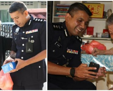Police Chief Visits Old Woman Who Used to Give Him Food as a Kid