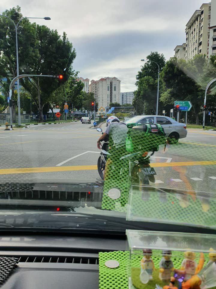 dedicated GrabFood rider