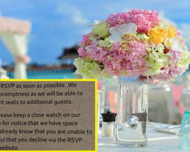 'Rude' Wedding Invitation Goes Viral after Couple Grouped Guests Based on Rank