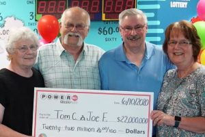 Man Wins $22 Million in Lottery, Upholds 30-Year Promise with Friend to Split Winnings