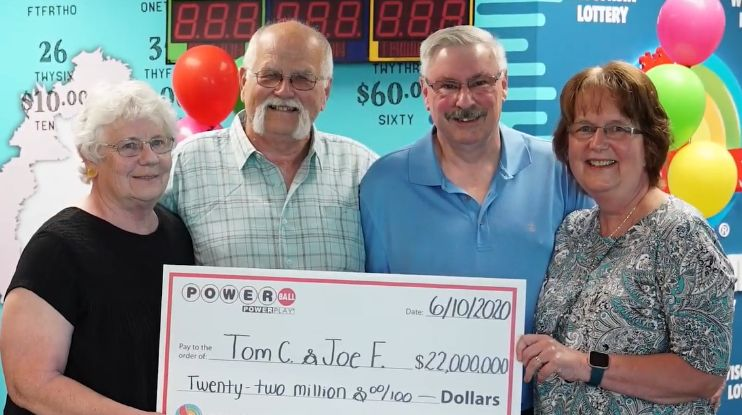 man wins $22 million lottery