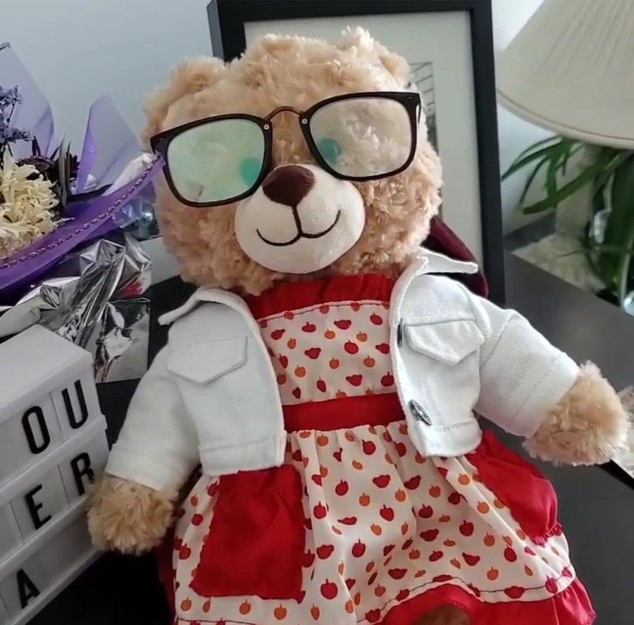 Ryan Reynolds reward teddy bear