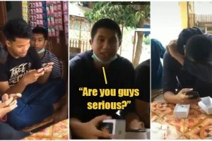 Teenager Cries after Friends Chipped in to Buy Him a New iPhone