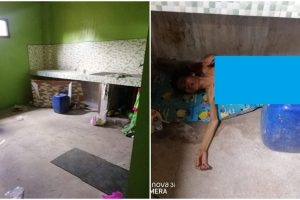 Old Woman Left by Daughter Under Sink Without Food and Clothes for 2 Days