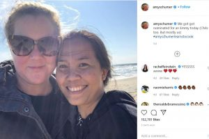 Amy Schumer Shares Emmy Nomination with Son's Pinay Nanny Who Helps Film the Show