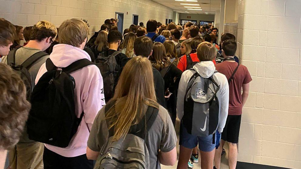crowded school