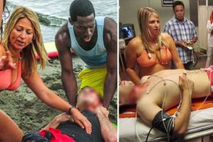 Doctor in Bikini Saves Man's Life at the Beach, Gets Called Out for 'Unprofessional Attire'