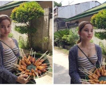 Gorgeous Banana Cue Vendor from Davao City Goes Viral