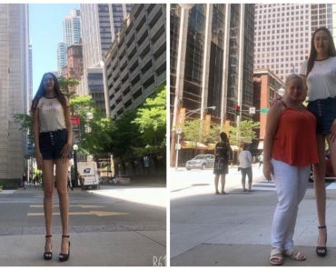 US-Based Mongolian Woman Snags Record for World's Second-Longest Pair of Legs