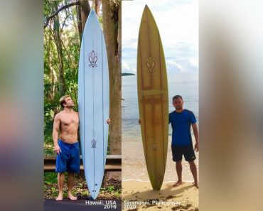 Missing Surfboard in Hawaii Turns Up in the Philippines Some 2 Years Later