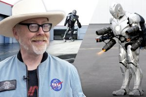 Mythbusters' Adam Savage Builds an Iron Man Suit That Actually Flies