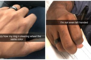 Newlywed Guy Goes Viral for Flexing His Wedding Ring in Hilarious Ways