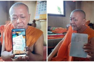 Thai Monk Wins $588,000 Lottery after Buying Tickets to Help Seller