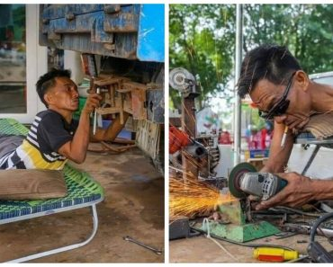 This Hardworking Man Inspires Others to Never Give Up