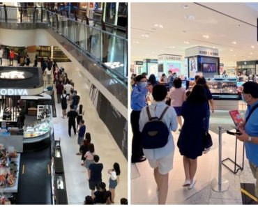 Long Queues Spotted after Robinsons Announced Closure in Singapore, Malaysia