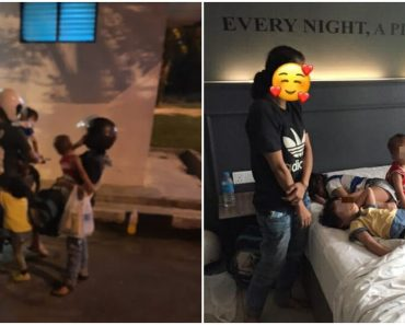 Homeless Family Staying at Public Toilet Finds Help from Kind Netizens