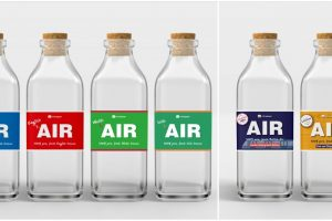 UK Company Sells Bottled 'Fresh Air' in 500-ml Bottles, Items Actually Got Sold Out