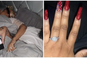 Guy Surprises GF with Engagement Ring While She Sleeps