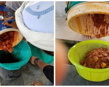 Netizens Slam Donors for Giving Rotten Leftover Foods to School