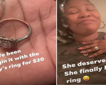 Husband Finally Buys Wedding Ring for Wife Who's Been Wearing $20-Ring Since 2007